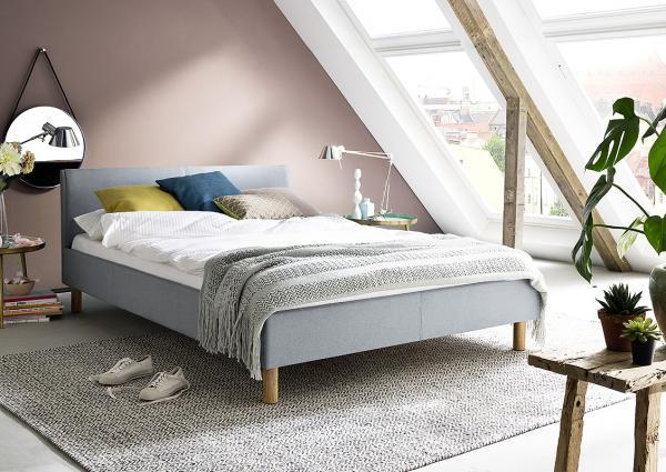 Twijfelaar bed vera 120 x 200 cm zwart netbed